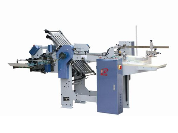 Fsd364k (4 comb + 1 knife) hybrid folding machine